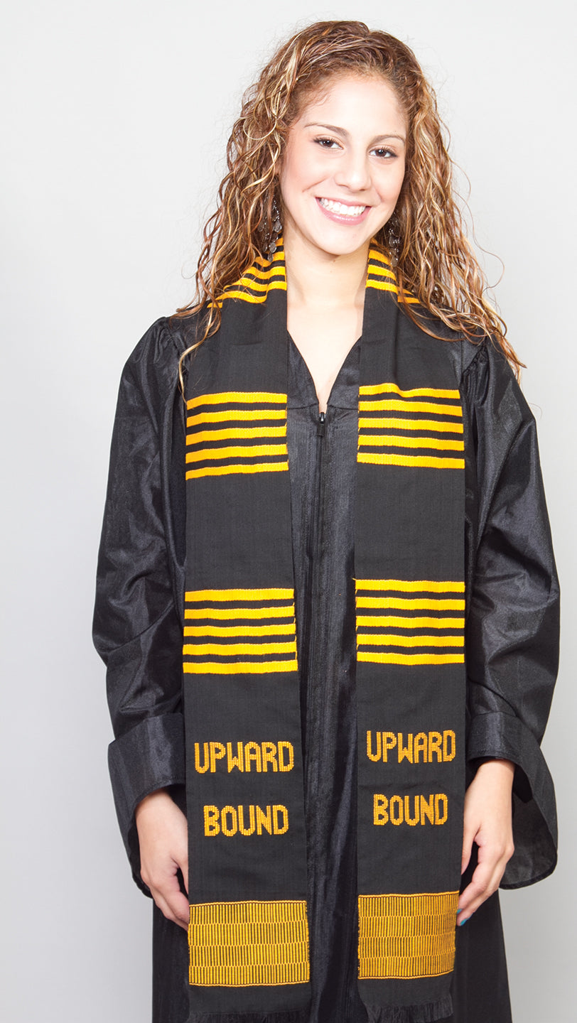 TR7-UPWARD BOUND KENTE STOLE