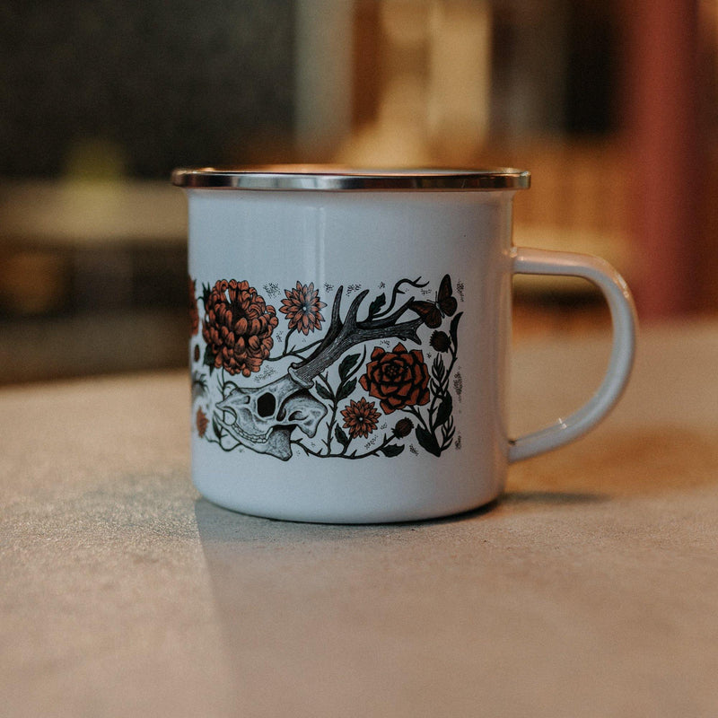 'AUTUMN DEATH' - ENAMEL MUG