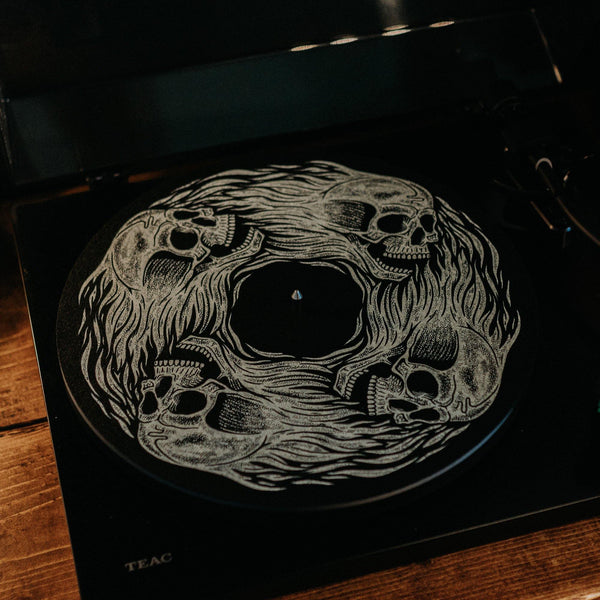'BOUND FOR HELL' - RECORD SLIPMAT