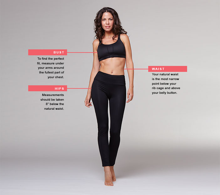 EightSpace women body for measurements