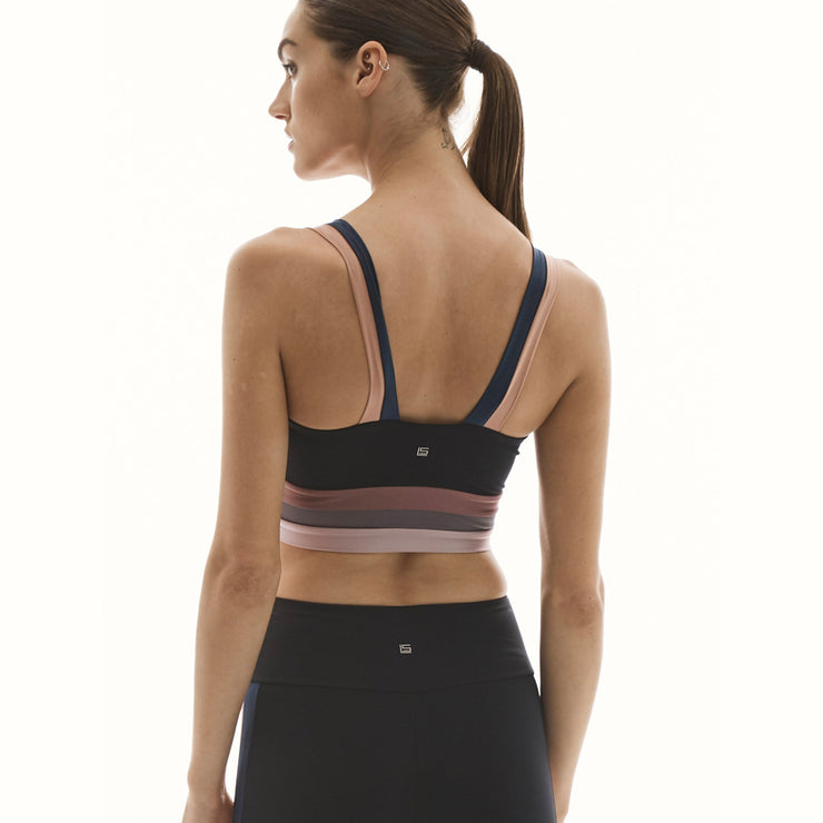 Breathe Stripe Bra