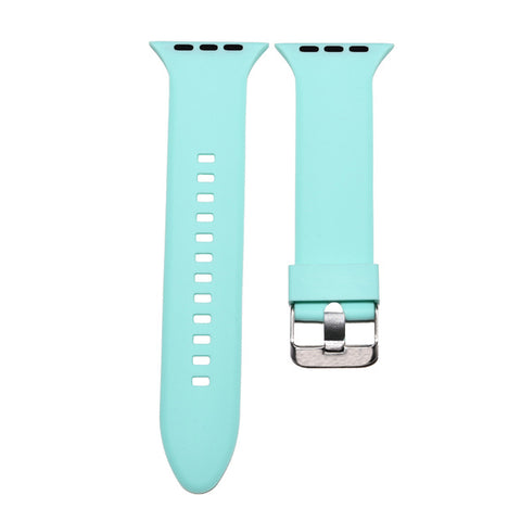 CRESTED sport silicone watch strap for apple watch band 42 mm 38mm rubber wrist bracelet watchband for apple-watch iwatch 3/2/1