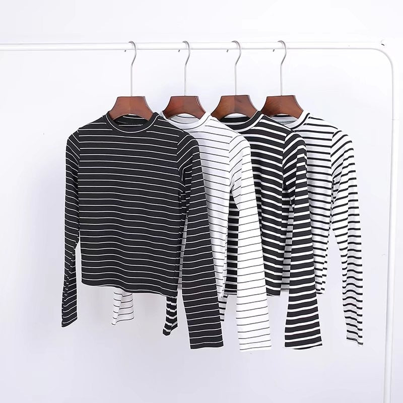 Long Sleeve Mock Top
