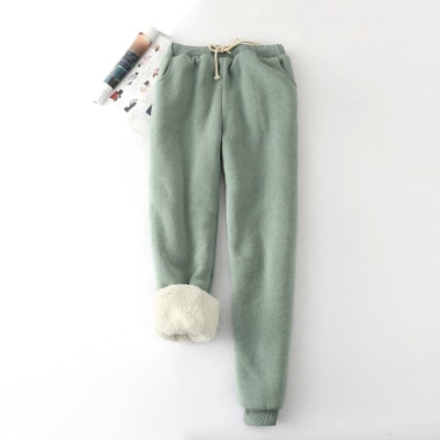 Fluffy Lined Sweatpants