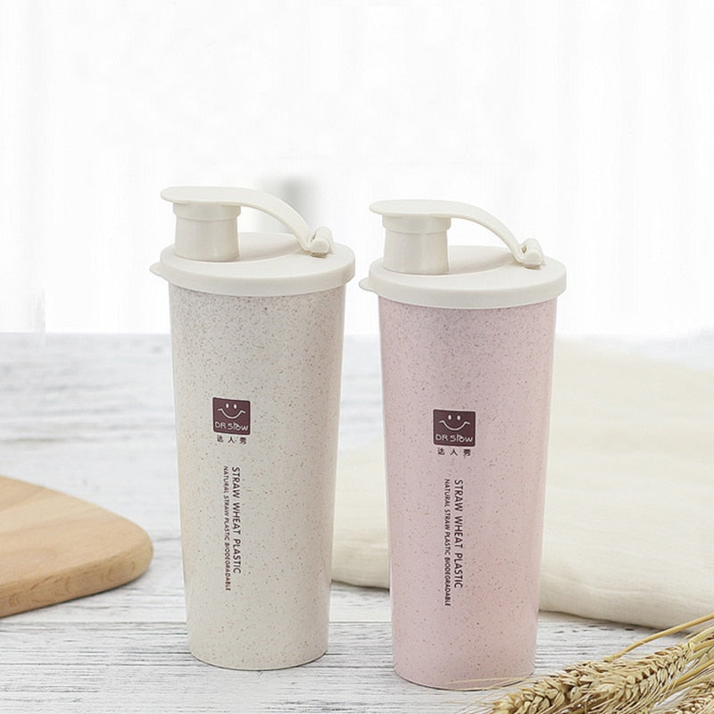 Wheat Straw Protein Shaker Bottle