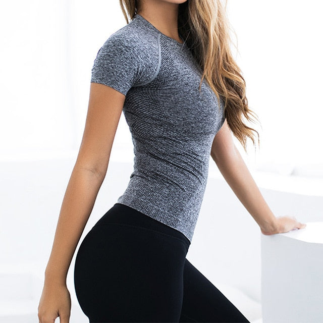 Short Sleeve Exercise Top