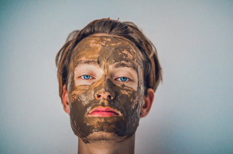 DIY: Avocado + Blue Clay Summer Face Mask