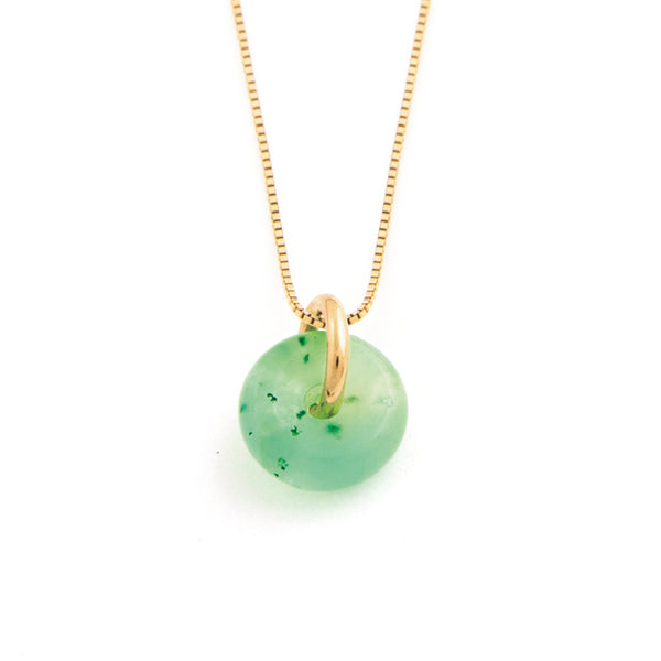 MAY CHRYSOPRASE NECKLACE