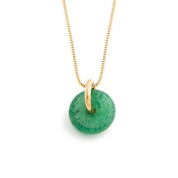 AUGUST AVENTURINE NECKLACE