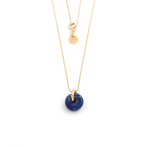 SEPTEMBER LAPIS LAZULI NECKLACE