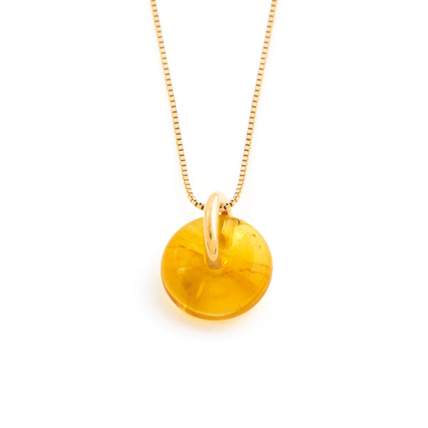 NOVEMBER CITRINE NECKLACE