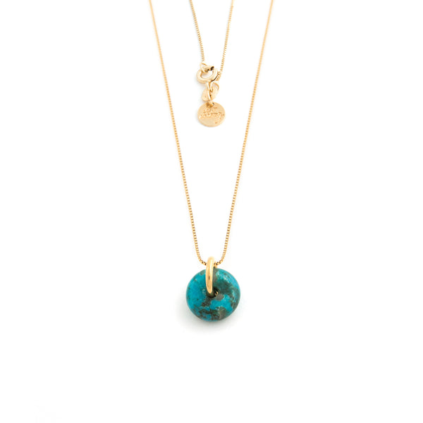 DECEMBER TURQUOISE NECKLACE