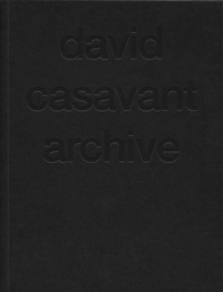 david casavant archive book (signed)