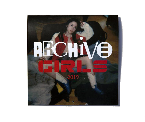 """archive girls"" 2019 calendar"