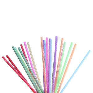 24-PACK 8-INCH REUSABLE STRAWS