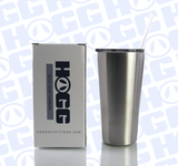 16oz SLIM TUMBLER W/ STRAW