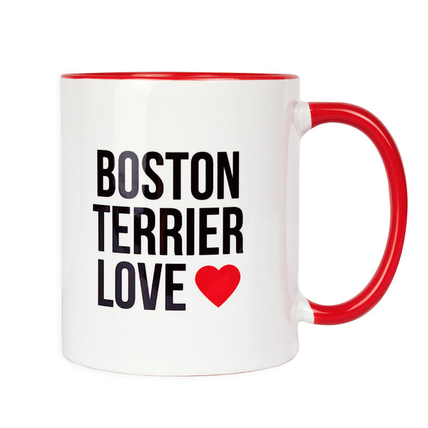 Boston Terrier Love - Logo Mug