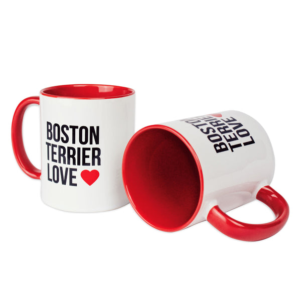 Boston Terrier Love - Logo Mugs