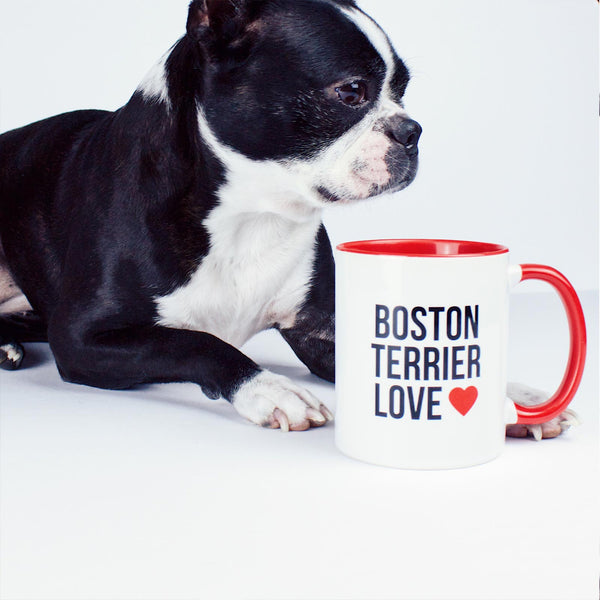 Boston Terrier Love - Logo Mug & Rita The Boston Terrier