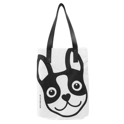 Boston Terrier Icon Urban Tote Bag - Black Boston Terrier Love