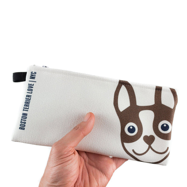 Boston Terrier Pencil Case Boston Terrier Love