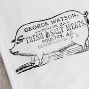 Butcher Sign Tea Towel