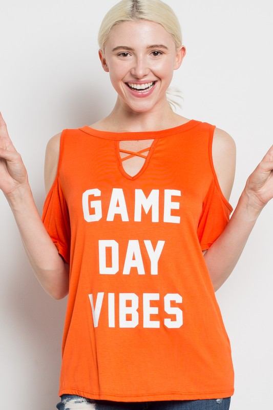 Game Day Vibes in Crimson & Orange