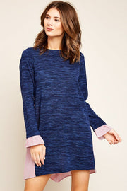 Williams Mixed Knit Dress