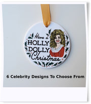 Funny Celebrity Ornaments