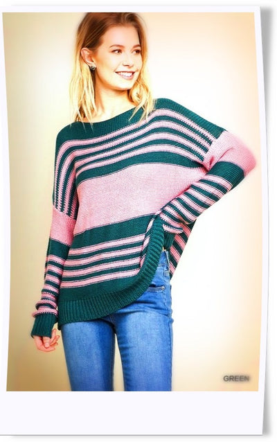High Hopes Striped Sweater