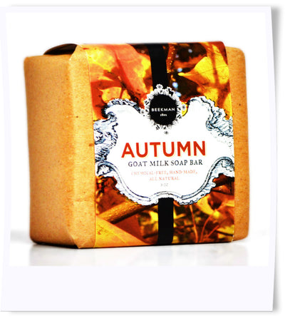 """Scent of Autumn"" Goat Milk Soap"
