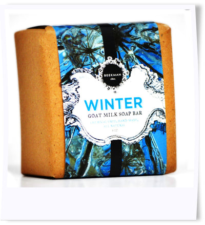 """Scent of Winter"" Pure Goat Milk Soap"