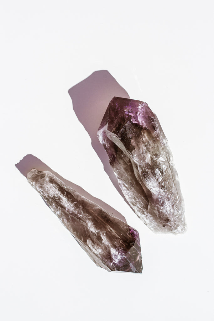 Large Brazilian Amethyst Points