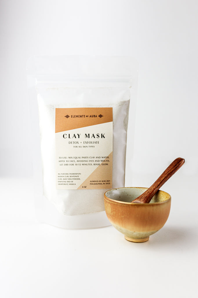 Clay Mask and Bowl set