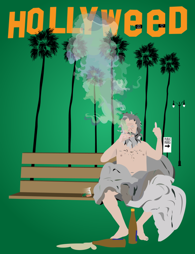Hollyweed- Signed Print
