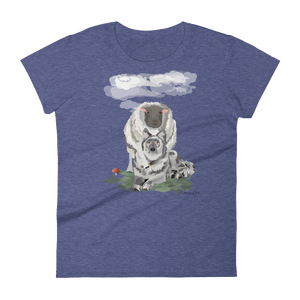 """REVENGE OF THE SHEEP"" - Women's Short Sleeve T-Shirt"