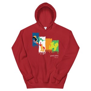 Abstract Hippo Hoodie