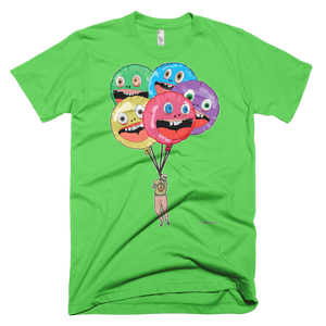 Happy Killer Balloons- Short Sleeve T-Shirt