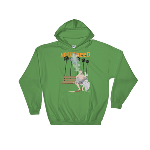 """HOLLYWEED DREAMER""- Hooded Sweatshirt"