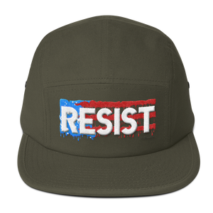 """RESIST"" - Five Panel Cap"