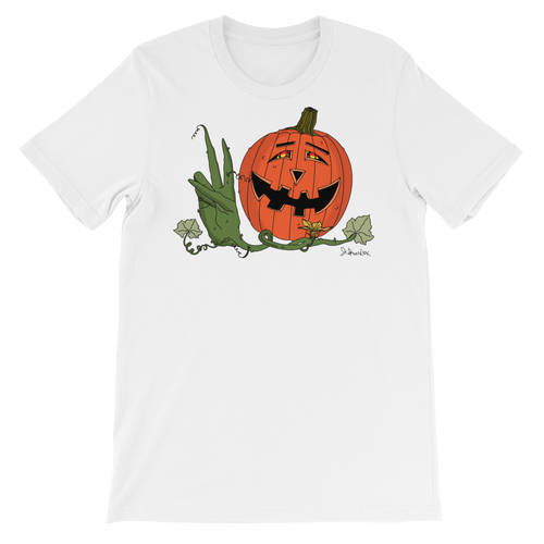 Peaceful Pumpkin- Short Sleeve T-Shirt
