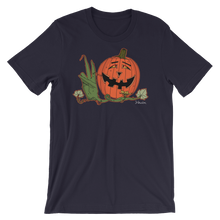 """Happy Hippy Peaceful Pumpkin""- Men's Short Sleeve T-Shirt (DEMO)"