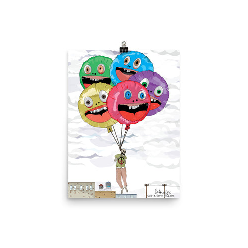 Balloon Art- Signed Print