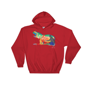 Hippo Bomb- Hooded Sweatshirt