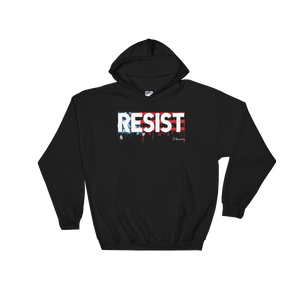 """RESIST""- Hooded Sweatshirt"