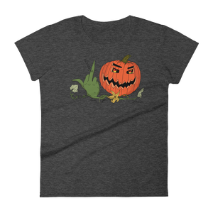 """F-You, I Love Halloween""- Women's Short Sleeve T-Shirt"