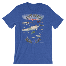 """Long Beach Surf Club""- Men's Short Sleeve Shirt"