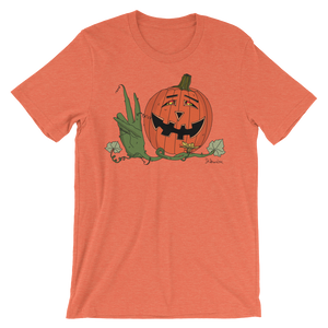 """Happy Hippy Peaceful Pumpkin""- Men's Short Sleeve T-Shirt"