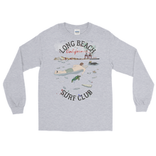 """Long Beach Surf Club""- Long Sleeve T-Shirt"