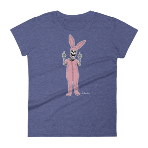 """Lil Bunny of Death""- Women's Short Sleeve T-Shirt"